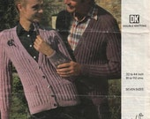 Vintage Knitting Pattern Emu 4807 His and her caridgans