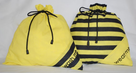 Travel lingerie bags - Bumblebees