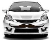 "12"" Car Mustache Decal - Karma Stache"