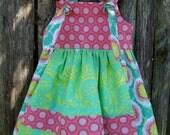 Toddler Girls' Apron Knot Dress