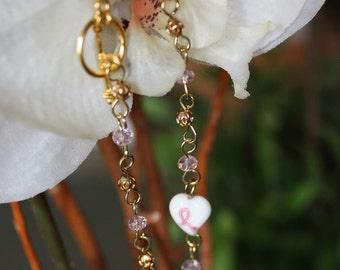 Cancer awarness bracelet