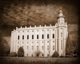 St. George Temple Picture