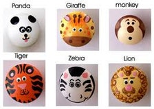 Pomelli per cassetti in mobili arredi arte decorazioni etsy bambini - Pomelli per mobili bambini ...