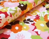Oh Deer! blossoms blossom cotton fabric by MoMo 1 yard
