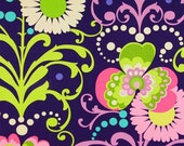 Custom Listing for khakiydax1 for Three Yards of Paradise Garden Midnight Twill Home Decor - Amy Butler Fabric - Love Collection
