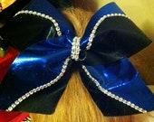 Wave DIVA Bow (royal blue and black)