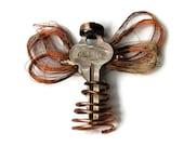 Key Angel Brooch 8