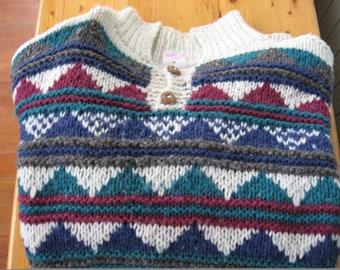 Mens Handmade Sweater from Equador