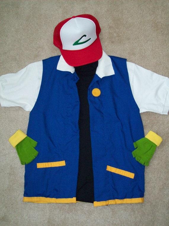 Pokemon Ash Ketchum Costume Ash Ketchum 4 pc Pokemon Ash