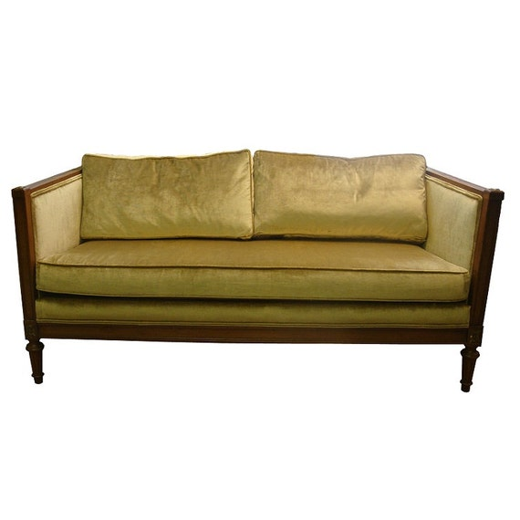 Hollywood Regency Loveseat