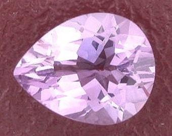 10x8 pear amethyst gem stone gemstone