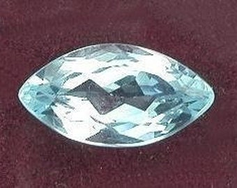 12x6 blue topaz marquise gem stone gemstone 12mm x 6mm