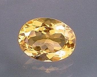 16x12 oval brandy quartz gem stone gemstone