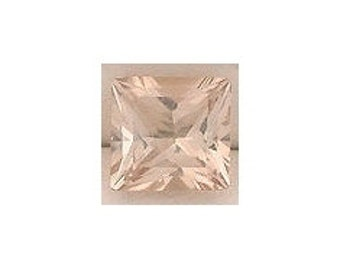 3mm square princess champagne topaz gem stone gemstone