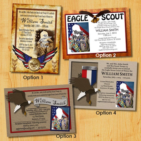 Eagle Ceremony Invitations as awesome invitation ideas