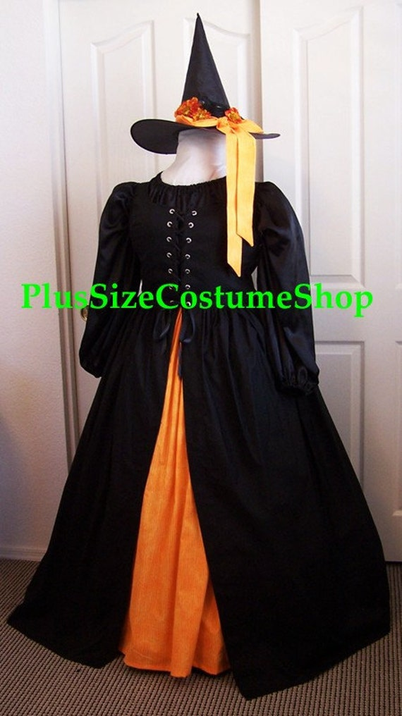 Plus Size Brilliant Witch Costume |Plus Size Halloween Costumes Witch