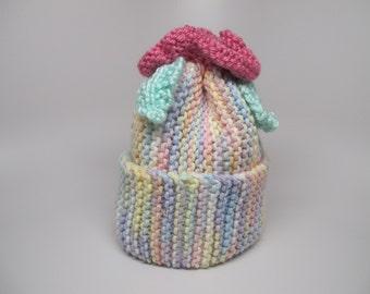Baby blossom hat