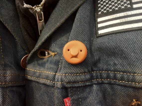 Made to order - Rebel Baldie lapel pin