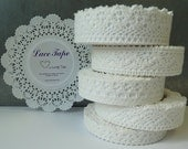Lace Tape White Collection