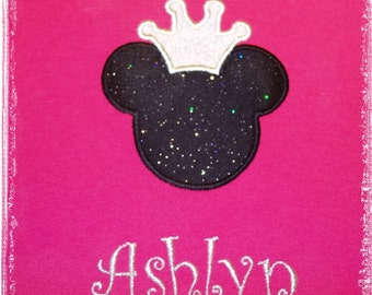 Princess Miss Mouse T Shirt Mickey - Magical Family Vacation Personalized