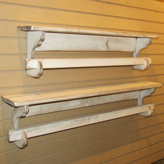 Primitive Quilt Rack 60 Long Rustic Country Style