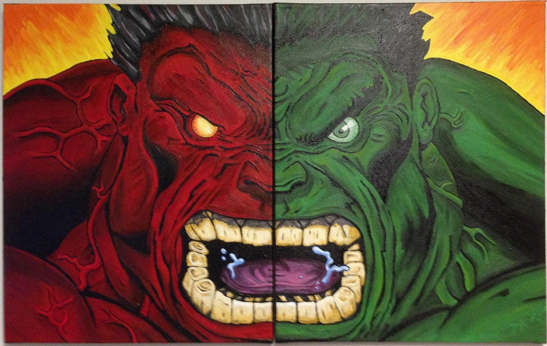 Green Hulk Red Hulk Evil Red Hulk Original Green
