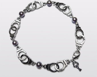 Fifty Shades of Grey inspired Handcuff anklet.