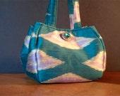 Reserved for sparble Petite Jim Thompson Thai silk handbag