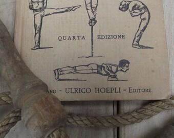 """1926 """"Ginnastica da camera, da scuola, compensativa e militare"""" // Italian Language"""