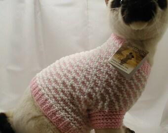 Hand Knit Cat Sweater Pattern