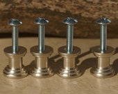 DIY Stone Cabinet Knob Kit - Two Colors - Set of Four
