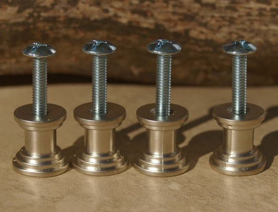 DIY Stone Cabinet Knob Kit Two Colors Set Of Four