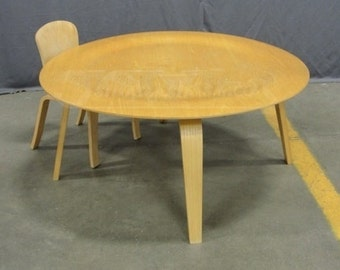 EAMES  Coffee Table w Two Small Chairs.  AUTHINTIC One of a Kind Grouping. The chairs are Eames Era.