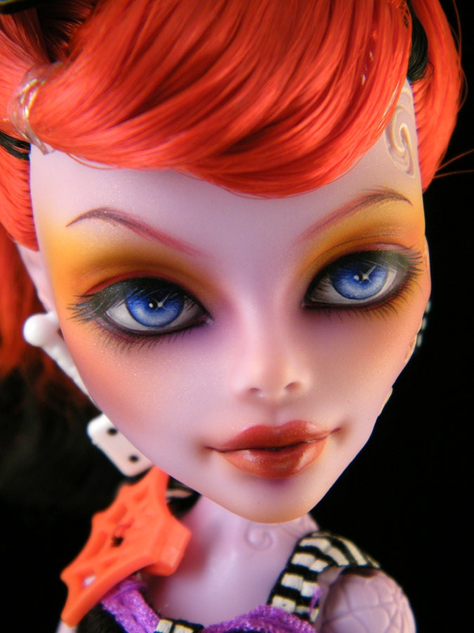Monster High Operetta Contrary Canary Repaint Doll