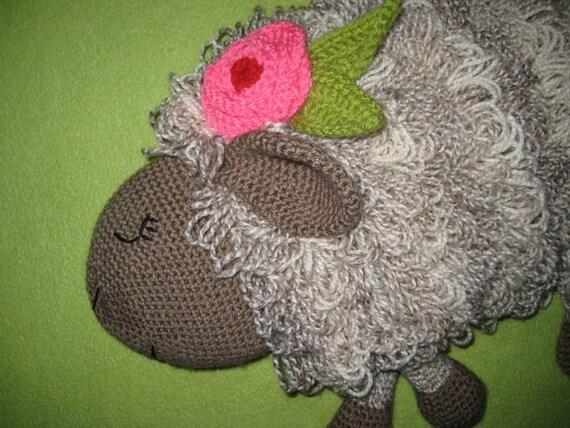 Sheep Hot Water Bottle Cover Cosy PJ Pyjama Case Crochet