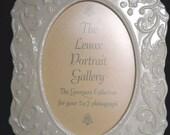 "Lenox Vintage Georgian Collection Ivory Porcelain China Ivory Frame 5"" x 7"""