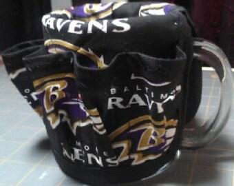Baltimore Ravens coffee mug organizer