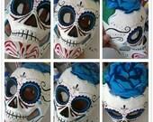 Day Of The Dead Dia De Los Muertos Skull Mask