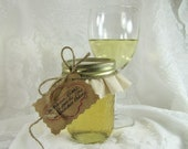Chardonnay Wine Jelly- 8 Ounce Jar- Fruit of the Vine Jelly- Wine Lover Gift- by The Backdoor Bakery