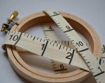 2 yards of  Japanese Twill Tape Measure Ribbon