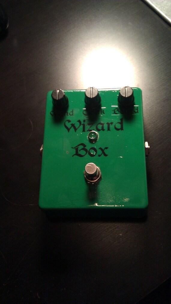 Wizard Box Fuzz pedal