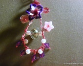 Tickled Pink: Wire Wrapped Pendant