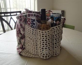 Huge Crochet Market Bag