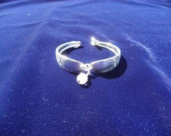 Silverplated spoon bracelet