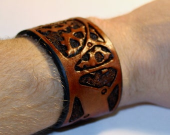 Leather Steampunk Mechanical Bracelet