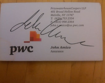 PwC Business Card