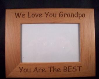 4 x 6 Grandpa picture frame