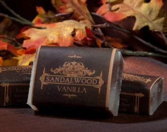 Soap Bars - Sandalwood Vanilla