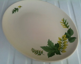 Knowles China, 1950s Edwin Knowles China Platter