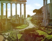 Ancient History: 6 blank cards featuring Roman ruins